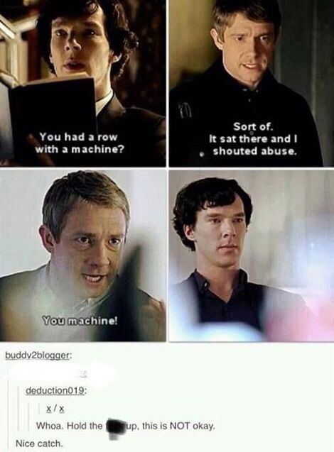 Pin By Hannah P On Sherlock Sherlock Funny Sherlock Holmes Bbc Sherlock John