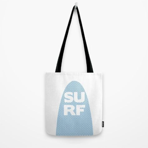 Surf Tote Bag By Fimbis Society6 Water Wavy Ocean