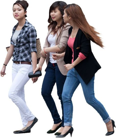 Image Result For Student Entourage People Png People Walking Png People Cutout