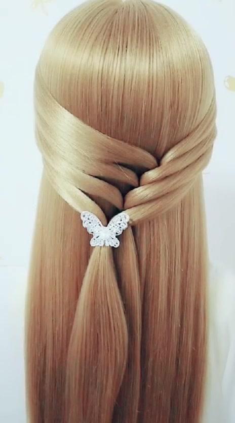 Tiktok Long Hair Styles Hair Tutorial Easy Hairstyles