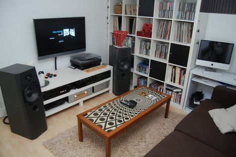 Cool Music Listening Room. For ST. | HOME | Pinterest | Room And Audio Room