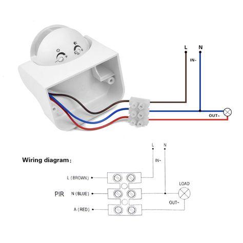 Outdoor Motion Security Light Wiring Diagram Wiring Diagram Electrical Installation Wiring D Electricidad Y Electronica Instalacion Electrica Electricidad Casa