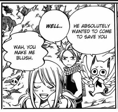 Nalu scene... Or not. | Natsu Dragneel and Lucy Heartfilia || Fairy Tail