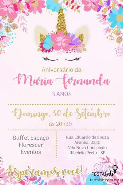 Pin De Alexa Cabral Vega En Cumpleaños Invitaciones