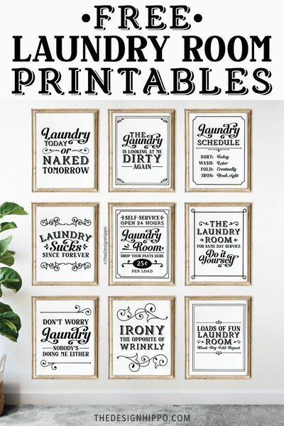 Free Laundry Room Decor Printables Set Of 11 Funny Quotes Laundry Room Decor Printables Laundry Room Printables Laundry Room Decor