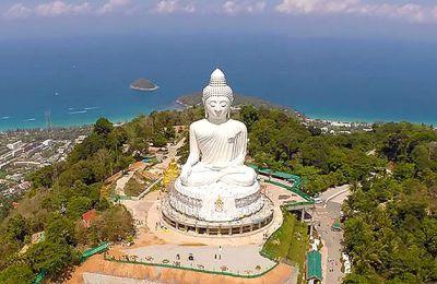 تمثال بوذا الكبير في جزيرة بوكيت تايلاند Phuket Phuket Travel Asia Travel
