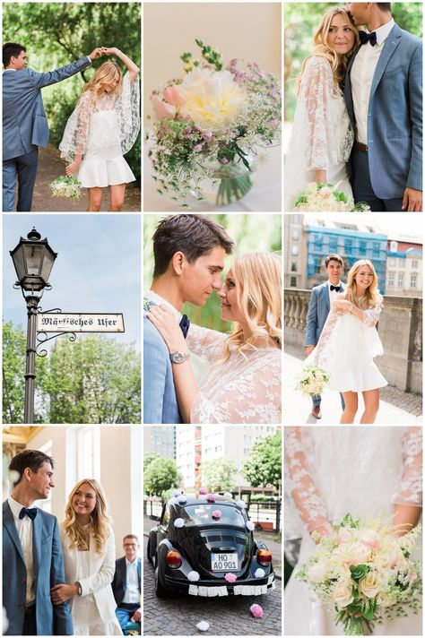 Is This The Most Chic Civil Wedding Ever? | Civil ceremony, Bridal ...
