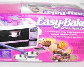 Vintage Easy Bake Oven and Snack Center - Working with Accessories
