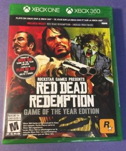 Red Dead Redemption Game Of The Year Edition G2 Case Xbox 360 One New Red Dead Redemption Game Red Dead Redemption Red Dead Redemption Undead Nightmare