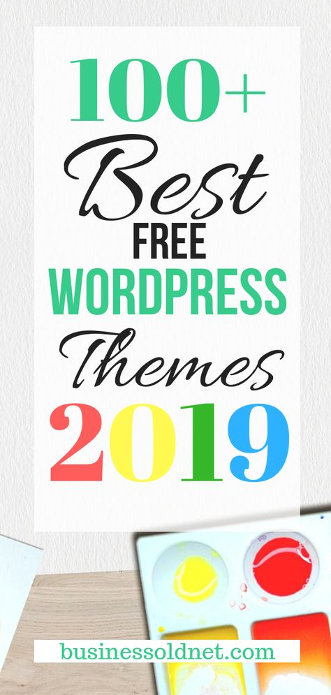 100+ Best Free WordPress Themes For Blogging or Business 2019