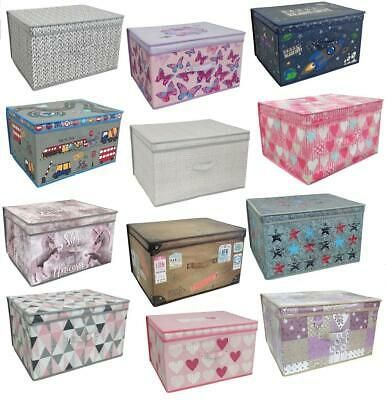 Large Jumbo Collapsible Folding Storage Box Kids Room Pop Up Chest Toy Tidy Box Storage Box Kids Room Tidying