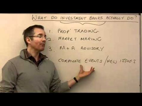 Who fit the investment banker job description Investment Banker - investment banker job description