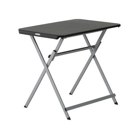 Lifetime 30 Inch Personal Folding Tray Table Light Commercial