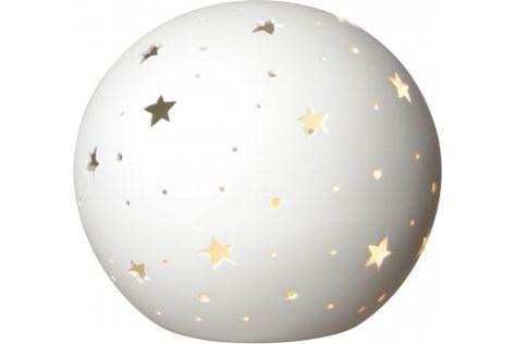 Lampe De Chevet Boule Etoilee H18 5 Starlight Plus D Infos