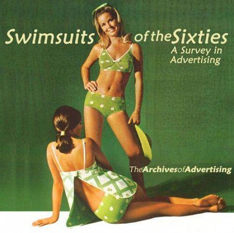 vintage 1960s polka dot bikini swimsuit | For all of your