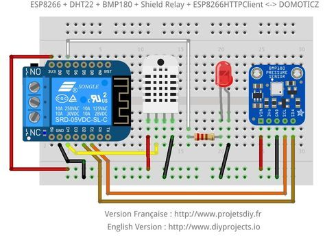 Driving The Gpio Of The Esp8266 Web Server From Domoticz To Tcp
