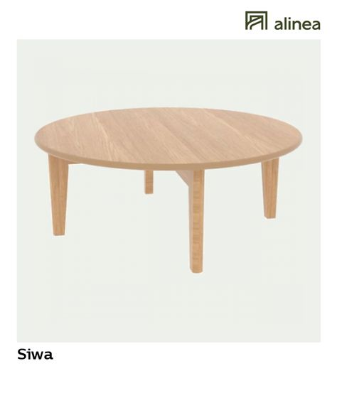 Alinea Siwa Table Basse En Chene H27cm Les Selections Alinea Etrange Merveille Alinea Decoration Ta Table Basse Table Basse Chene Table Basse Ronde