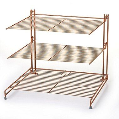 Nifty Copper 3 Tier Cooling Rack Oven Racks Copper Nifty
