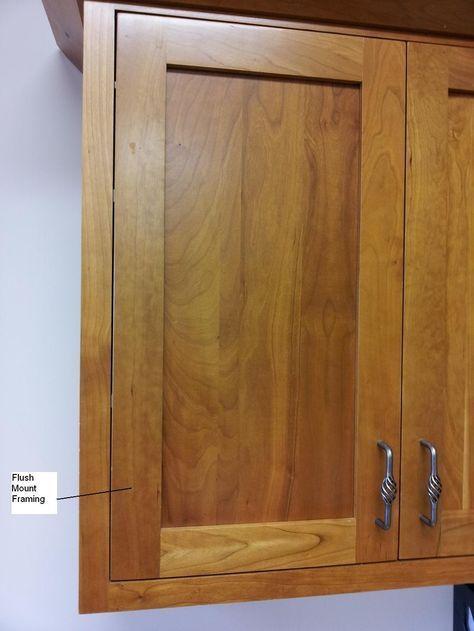 flush mount kitchen cabinet doors home renovations make overs rh pinterest com flush mount cabinet door locks hinges for flush mount cabinet doors