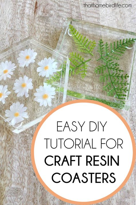 How to Make Craft Resin Coasters (a Step by Step Tutorial)