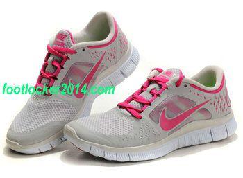 2016 Womens Nike Roshe Run Shoes Light Gray Peachblossom New Year Deals
