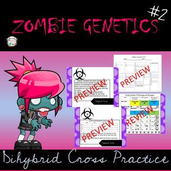 Zombie Genetics #2- Dihybrid Crosses | Supernova Science ...
