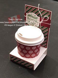 Tamara S Paper Trail Mini Coffee Cup Gift Card Holder Treat Holder Coffeecup Tamara S Paper Trail Mini Mini Coffee Cups Coffee Gifts Card Coffee Cup Gifts