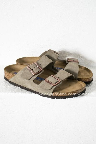 Arizona Velvet Grey Birkenstocks | Shoes, Birkenstock, Me