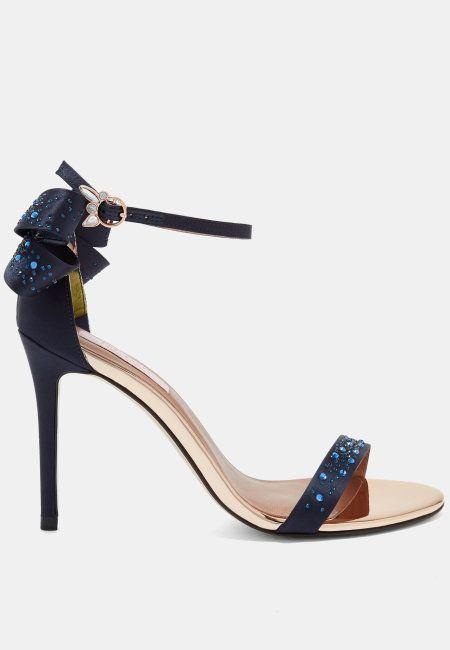 Crystal sandals, Ted baker shoes