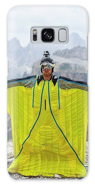 Wingsuit For Sale >> Base Jumper Showing Wingsuit Galaxy S8 Case For Sale By