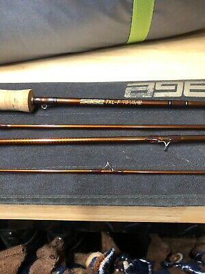 Ad Ebay Link Sage Txl F 7 10 4wt Fly Rod 2 Of 2 In 2020 Fly Rods Sage Rods Rod