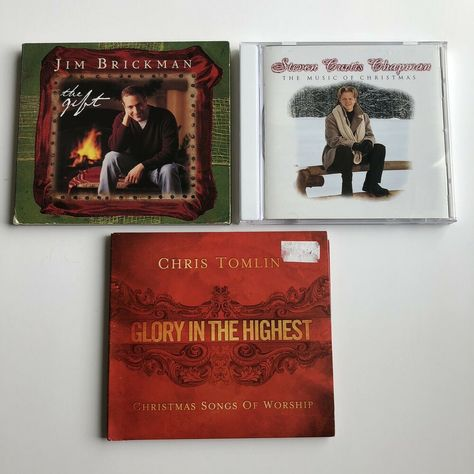 Chris Tomlin Christmas.Lot Of 3 Christmas Music Cds Jim Brickman Chris Tomlin