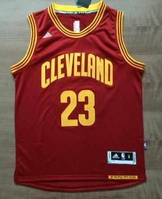 wholesale dealer 5df31 d17f7 Men CAVS 23 Lebron James Swingman Jersey Red Cleveland ...