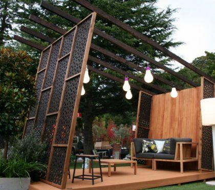 Pin Von Queen Auf Garten Sichtschutz Im Freien Terassenideen Sichtschutz Garten