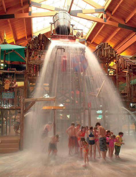 Great Wolf Lodge indoor waterpark in Sandusky, Ohio. Do you know that Ohio Farm Bureau members get a discount to Great Wolf Lodge.