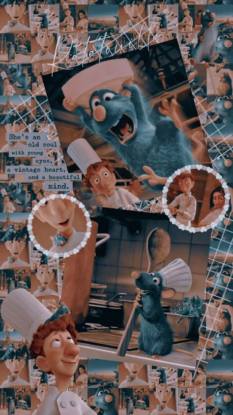 Edits Wallpaper Ratatouille