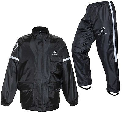 WATERPROOF Jacket /& Trousers Pants for Motorcycle Over SUIT RAIN 2 Piece