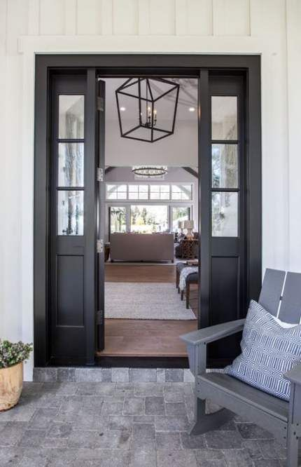 65 Ideas For Farmhouse Front Door Color Craftsman Style Craftsman Front Doors Custom Home Builders Home