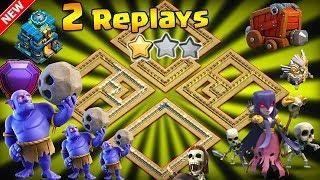 NEW TH12 WAR BASE 2018 ANTI 2 STAR With 2 Replays Anti