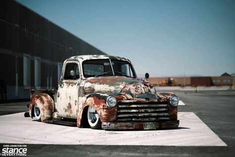 """When Don of Yorkville Auto bought his 1950 Chevrolet from Vintage U-Pick in Florida, he was under the impression it was a """"strong running, turn key truck."""" When it arrived it was more of a sickly r…"""