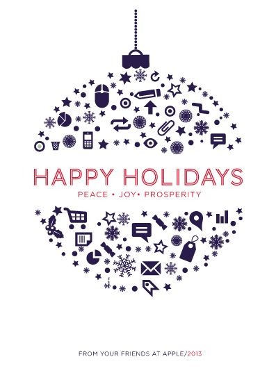 business holiday cards - Ornamental Holiday by chica design Info graphic. Could use small kiosk icons and books, write happy holidays in our main languages in the middle?