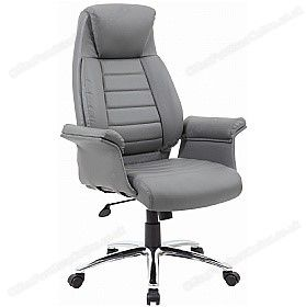 Jersey Executive Leather Faced Office Chairs Chair Ergonomic