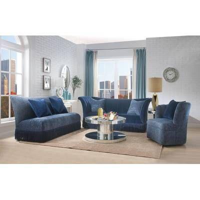 Astoria Grand Jazmin Configurable Living Room Set Wayfair Living Room Sets Sofa Set Furniture