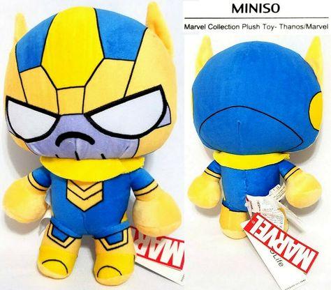 "Marvel Comics The Avengers Endgame Plush Antman Movie Soft Doll 9/"" New Tagged"