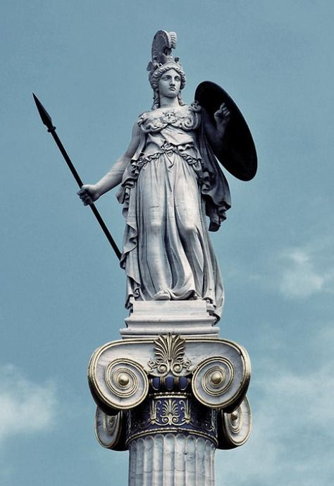 Афина статуй картинки