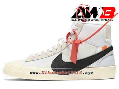 great deals new arrival get online Chaussures Nike Prix Pas Cher Pour Homme Off-White X Nike Blazer ...