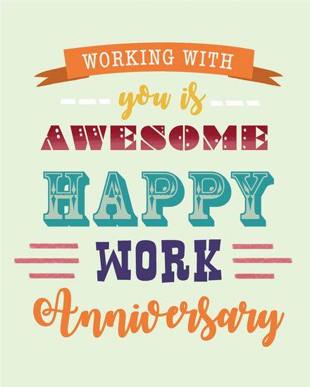 Groupgreeting Anniversary Card Work Anniversary Quotes Work Anniversary Cards Work Quotes