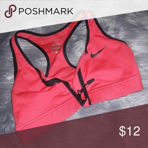 f952f5f6fc644 Nike zip up sports bra Zip up sports bra Nike Other
