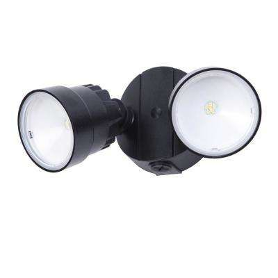 2 Light Black Outdoor Integrated Led Wall Mount Flood Light Outdoor Flood Lights Led Outdoor Flood Lights Flood Lights