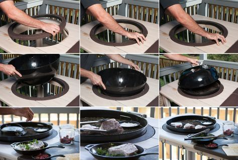 Grill Mount V2 Weber Grill Table Diy Diy Grill Table Weber